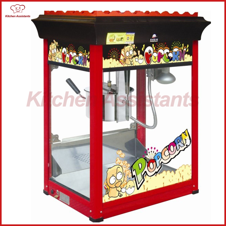 VBG88 16OZ Popcorn Machine Popcorn Maker 220V for commercial use цена