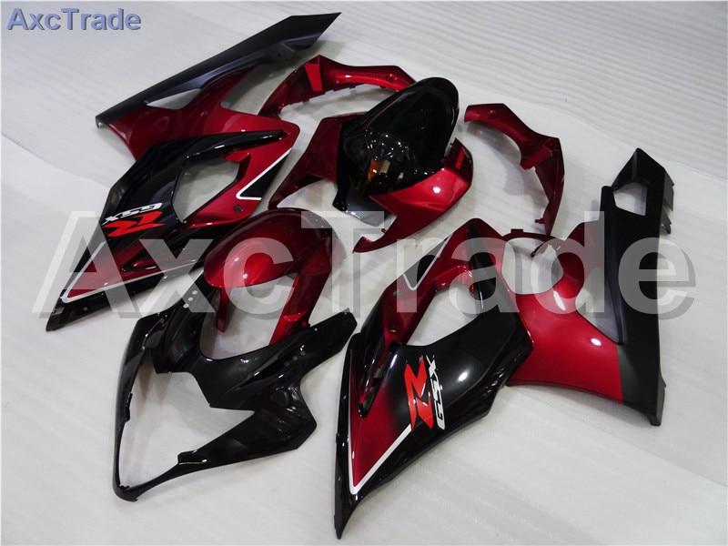 Motorcycle Fairings For Suzuki GSXR GSX-R 1000 GSXR1000 GSX-R1000 2005 2006 K5 ABS Plastic Injection Fairing Bodywork Kit Red motorcycle fairings for suzuki gsxr gsx r 1000 gsxr1000 gsx r1000 2007 2008 07 08 k7 abs plastic injection fairing kit red black