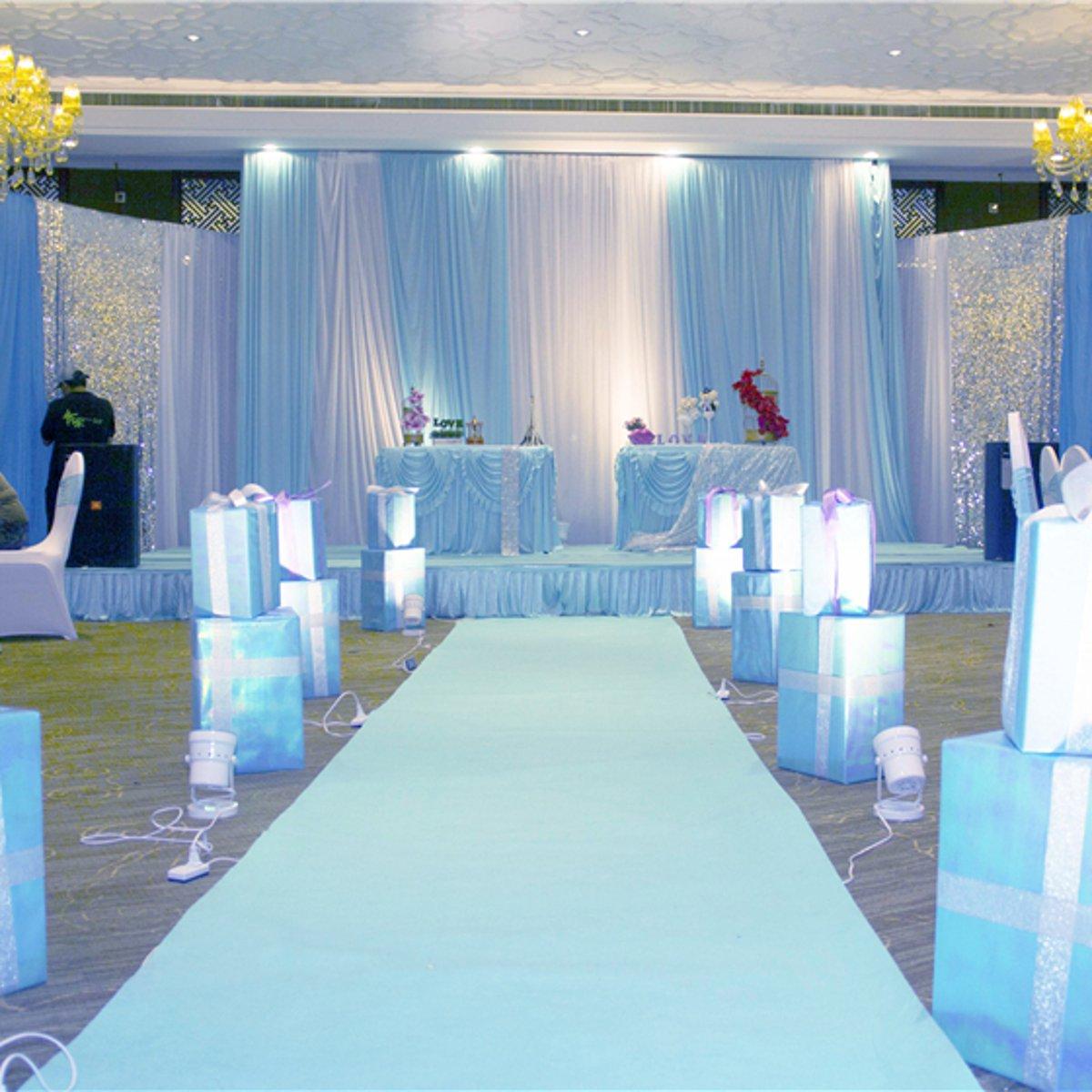 White Carpet 10x1m Wedding Aisle Floor Runner Hollywood Awards Party  Decoration Polyester Floor Rug Runner Party