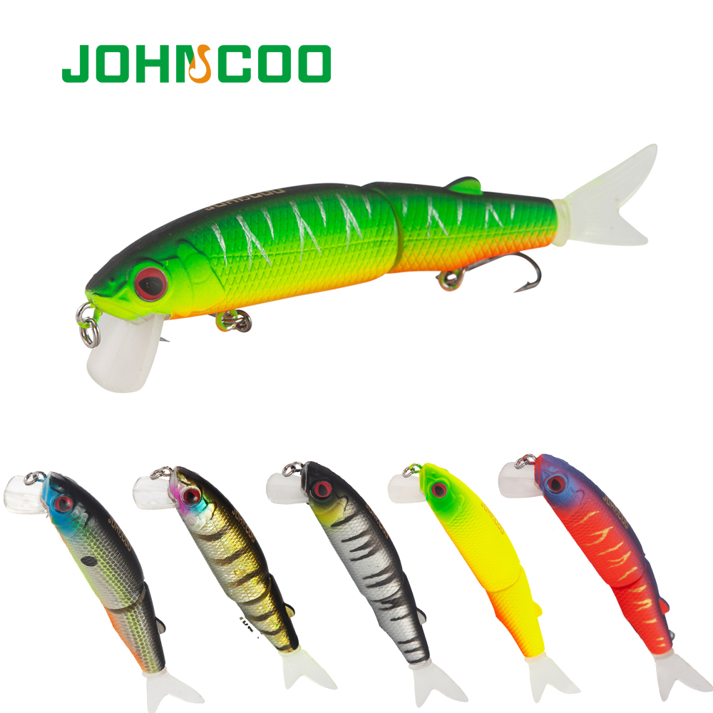 JOHNCOO Wobbler Magallon 110mm 14.7g Hard Minnow Bait Artificial Bait Swim Bait With Spare Tail Fishing Lures High Quality