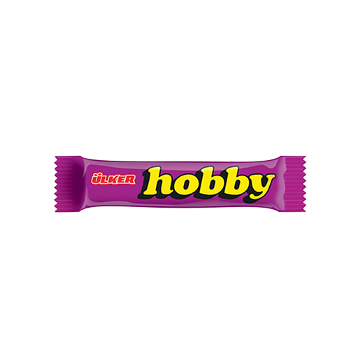 Ülker HOBBY CHOCOLATE HAZELNUT BAR 25 GR (24 PCS) NEW LISTING
