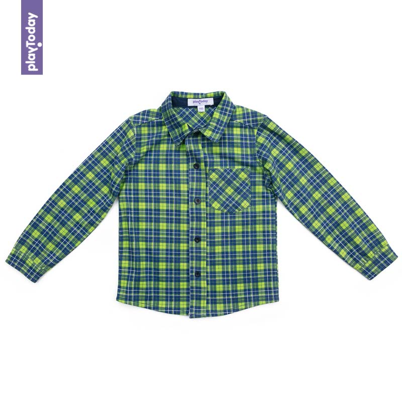 Blouses and Shirts PLAYTODAY for boys 371166 Children clothes kids clothes kids spring formal clothes set children boys three piece suit cool pant vest coat performance wear western style