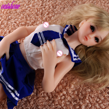 Free shipping 2019 65cm silicone sex doll sex doll young small sex doll for man