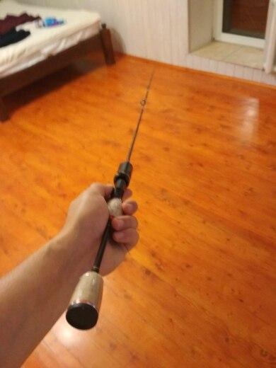 Varas de pescar Glória Spinning Carbono
