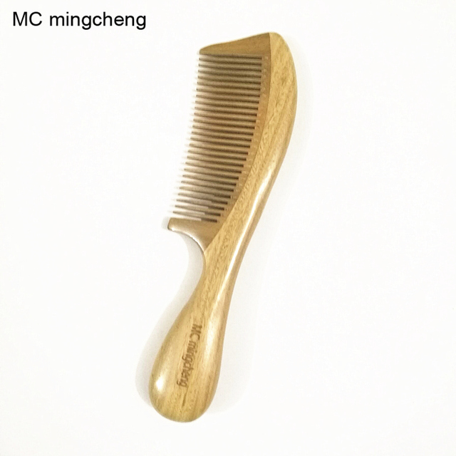 Us 1091 Mc Green Sandalwood Comb Anti Static Smooth Comfortable Massage Wood Comb Hair Best Hair Brush 3 2a In Combs From Beauty Health On