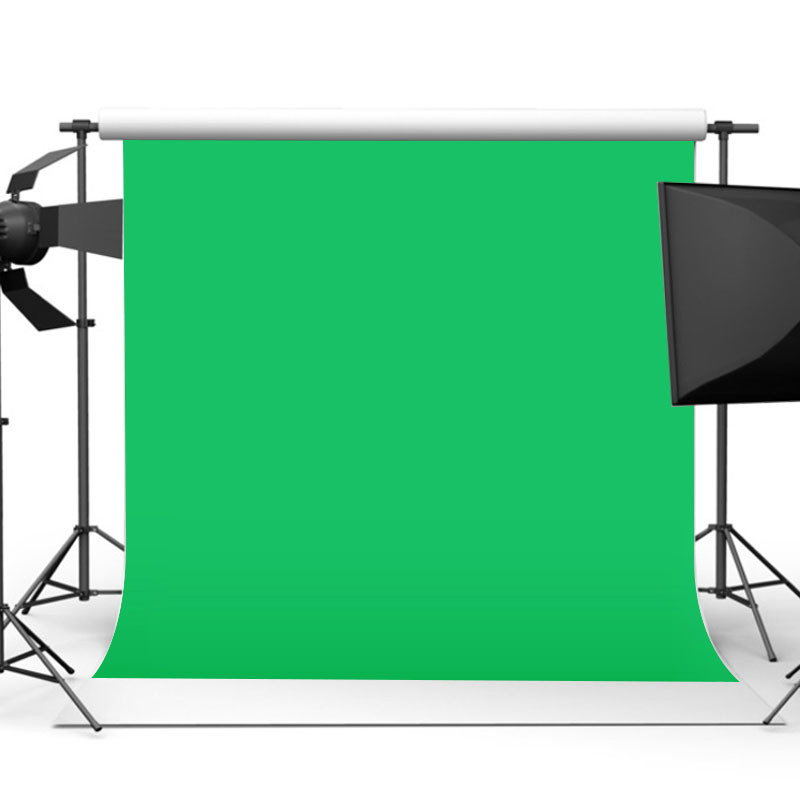 10x10ft Green/White Folding Screen Muslin Cloth Backdrop Photo Studio Waterproof Photography Background solid color background muslin video photo photography studio screen backdrop green ps cutout customized