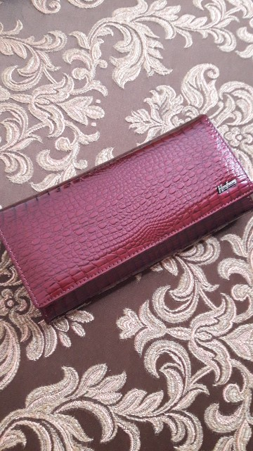 HH Women Wallets and Purses Luxury Brand Alligator Long Genuine Leather Ladies Clutch Coin Purse Female Crocodile Cow Wallet photo review