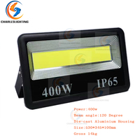 CHARLES LIGHTING 3 Years Warranty Outdoor LED Flood Lights 110 240V LED FloodLight 200W/300W/400W LED Square Water Proof Lights