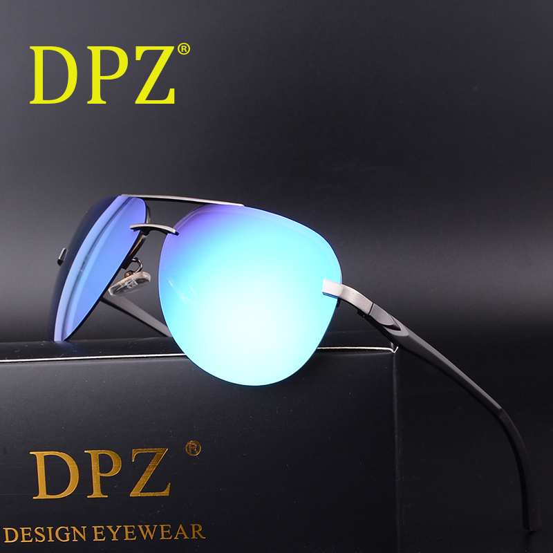 7e11d6e0b6 Best buy 2018 Dpz brand design men Polarized Sunglasses driving sunglasses  UV400 Luxury hot rays brands original packaging glasses online cheap