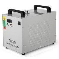 Refrigerador industrial do refrigerador de água de thermolysis CW-3000 para o cnc/máquinas de gravura do gravador do laser 60 w/80 w