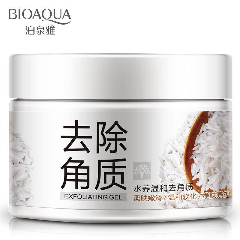 BIOAQUA exfoliantes faciales exfoliante Facial Natural exfoliar y blanquear crema brillo descascarillante Gel exfoliantes faciales y esmaltes