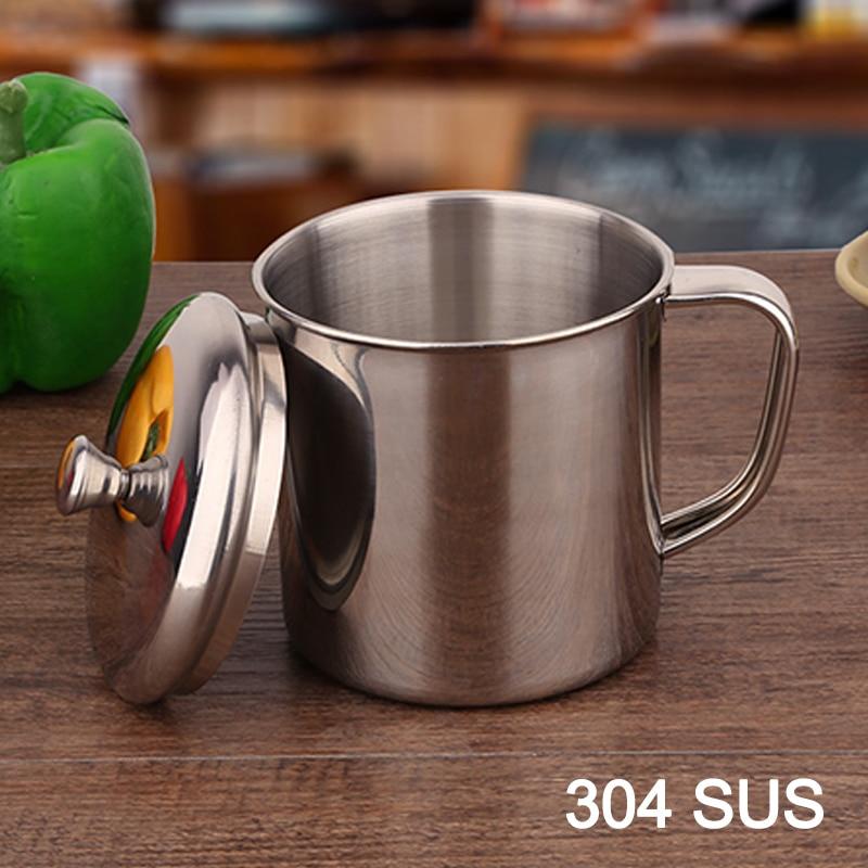 Café tasse 304 tasse de lait en acier inoxydable