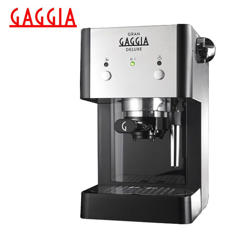 цены на Coffee Maker Gaggia Gran Deluxe Black в интернет-магазинах