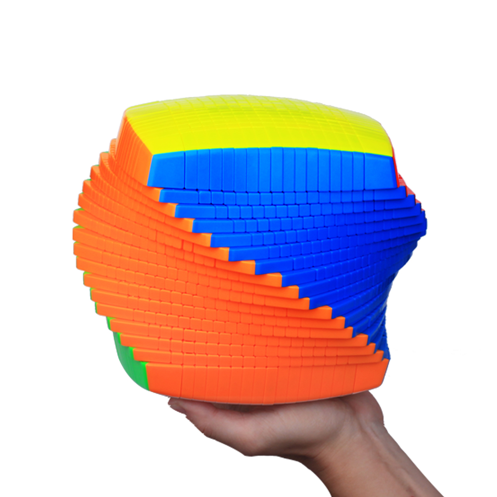 New Yuxin Huanglong 17x17x17 Cube Zhisheng Speed Cube Puzzle Twist Spring Cubo Magico Learning Education Toys Magic DropShipping dayan bagua magic cube speed cube 6 axis 8 rank puzzle toys for children boys educational toys new year gift