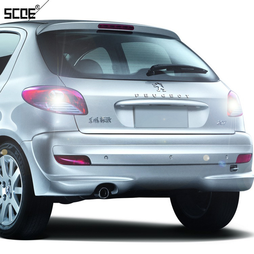 For <font><b>Peugeot</b></font> 207 207 CC 307 307 CC <font><b>308</b></font> <font><b>308</b></font>/<font><b>308</b></font> SW <font><b>308</b></font> CC SCOE 2015 2X30SMD Super Bright Back Up <font><b>Light</b></font> Reverse <font><b>Light</b></font> Car Styling image