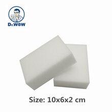 40 pcs/lot Cleaning Sponge White Magic Eraser Melamine Foam Nano Kitchen Office Bathroom Car Tools 10x6x2
