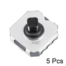 цена на UXCELL 5Pcs 7x7x5mm Switches 6 Pin 5 Way Momentary Push Button SMD SMT Tactile Switch Mounting Membrane Switches Supplies