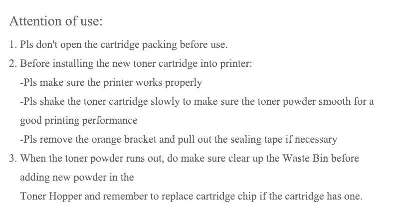 Cheap toner cartridge