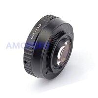 Amopofo M42-M4/3 Focal Reducer Speed Booster Adapter M42 schraub Objektiv für Olympus E-P1  E-P2  E-P3  E-PL1  E-PL2  E-PL3