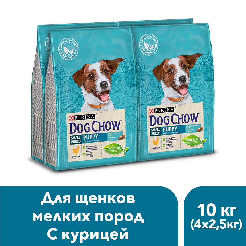 Dog Chow dry food for puppies of small breeds up to 1 year, with chicken, 10 kg. dog chow dry food for adult dogs of small breeds up to 1 year with chicken 10 kg