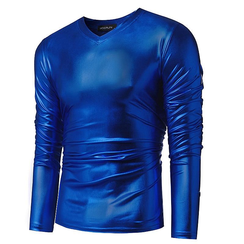Herren Trend Stufen Tragen Performer Kleid Herren T shirts Gold ...