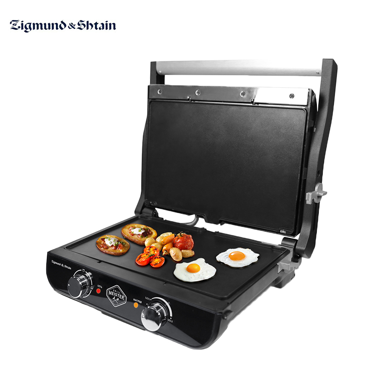 Electric grill Zigmund & Shtain GrillMeister ZEG-925 electric grill tefal gc241d38 electric griddles press grill