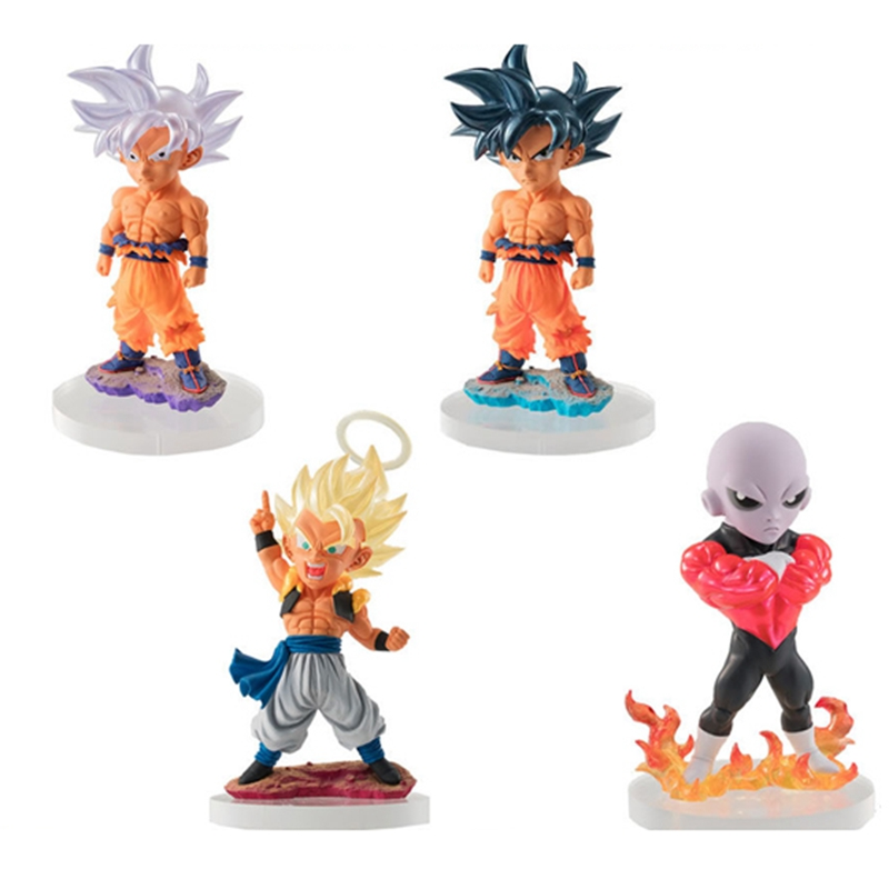 2 types set 3.Trunks//4. Goku Dragon Ball super UG Dragon Ball 07 Capsule toy