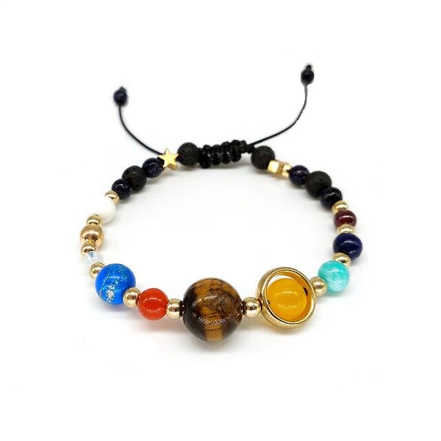 BOEYCJR 9 Planets Pluto Universe Bangles & Bracelets Fashion Jewelry 5