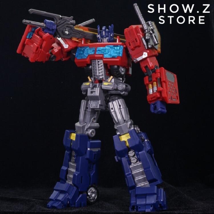 [Montrer. Z Magasin] LegendaryToys LT-03 LT03 OP MTCD-01 Dieu Ginrai Tonnerre Manus MP-10 Transformation Figurine