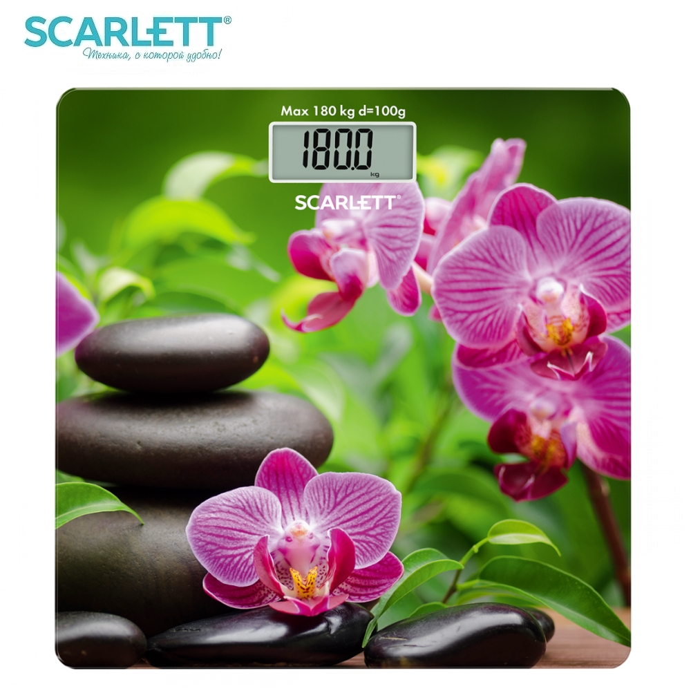 Scale floor Scarlett SC-BS33E038 Scale floor Scale smart Electronic body Scales for weighing human scales body weight brand eyki 30m waterproof business casual watch roman scale couple watches digital scale leather strap japan movement 1005