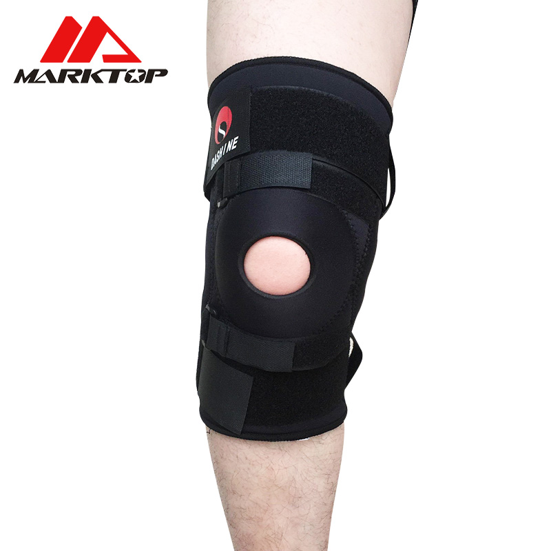 Marktop Sports knee ventilation can be used to regulate fitness running basketball cycli ...