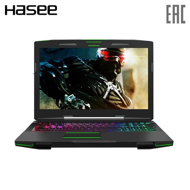 """Игровой ноутбук Hasee Z7M-KP7GH 15.6"""" IPS FHD/i7-8750H/GTX1050Ti 4ГБ/8ГБ/256ГБ SSD+1TБ HDD/RGB"""