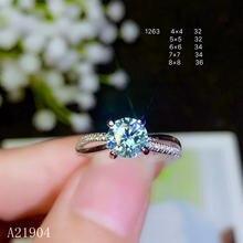 Кольцо с инкрустированным натуральным бриллиантом mozanne kjeaxcmy