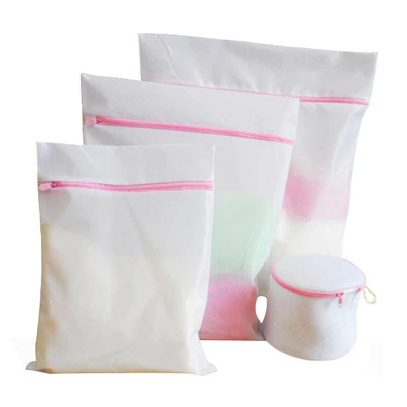 4 шт. корзина для белья бюстгальтер белье стиральная Сетчатая Сумка складная сумка для белья для стиральных машин мешки для стирки