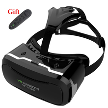 VR Glasses 3D Glasses VR Headset Box Virtual Joystick for Phone Virtual Reality Glasses for Iphone Google Cardboard  Galaxy S9 все цены