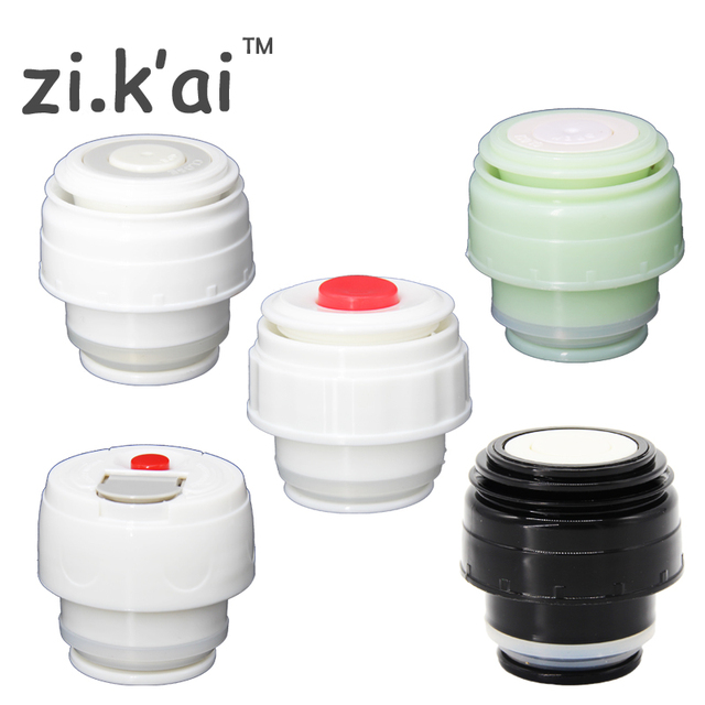 ZIKAI Thermos Cover Vacuum Flsak Lid Thermocup Thermose travel mug Outlet bullet flask cover Stainless Thermos Accessories C-2