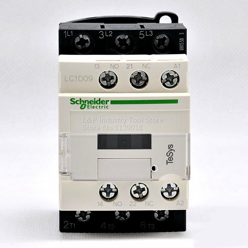 New Original Schneider LC1D09F7C Coil 110VAC Contactor Relay 9A LC1 D09F7C Free Shipping Load 4KW AC380V