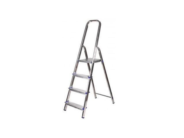 Ladder-stepladder aluminum KRATON 3 tbsp. 60cm, 2.8kg gorgeous 60cm length golden thick braided wheat chain necklace for men