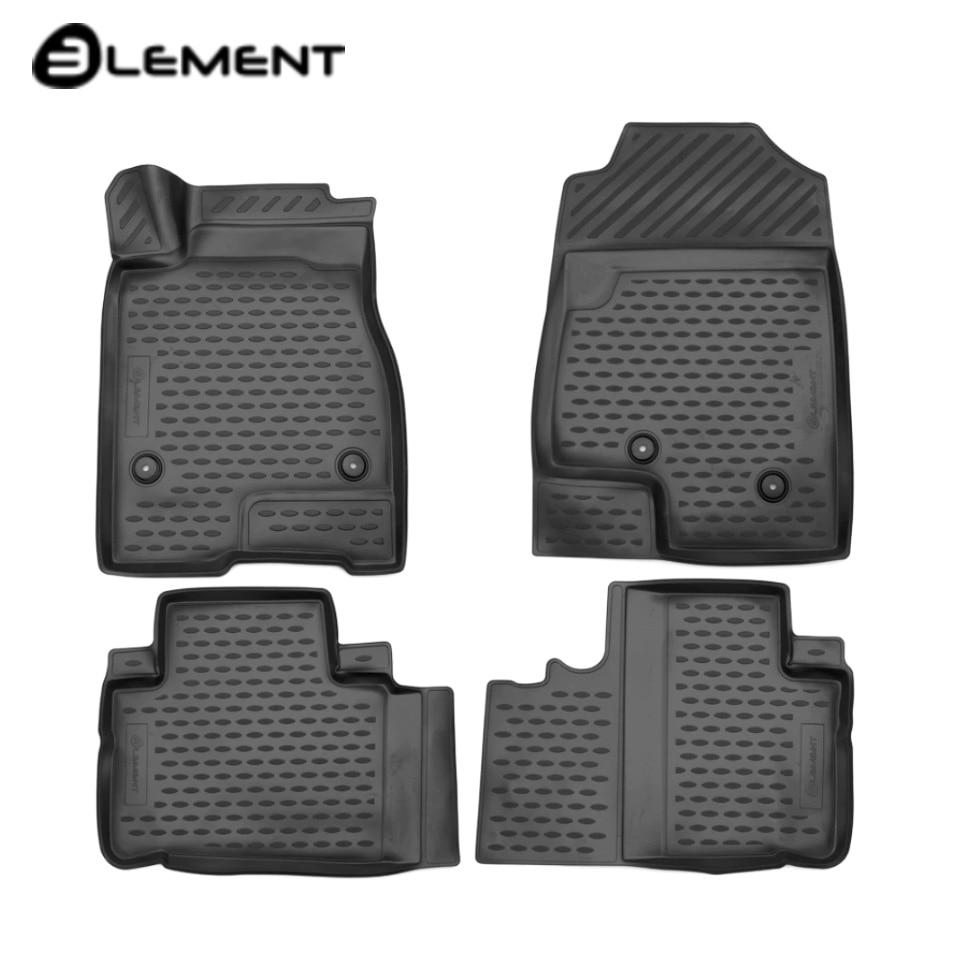 Para Haval H6 FWD 2014-2019 3D tapetes em saloon 4 pçs/set Elemento ELEMENT3D9922210k
