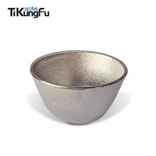 Free Shipping Limited Tikungfu Titanium Tea Cup Hot Sale Alcohol 50 ml Sake Tableware Drink Whisky Cognac Ultra lightweight