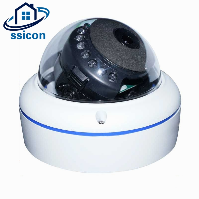 SSICON 180 Degree Mini Fisheye AHD Camera Home 1.7mm Lens Dome Surveillance Camera 20M IR Distance Night Vision With OSD Menu ssicon indoor 4 in 1 analog camera 1080p home security 20m ir distance night vision surveillance cctv cameras with osd menu