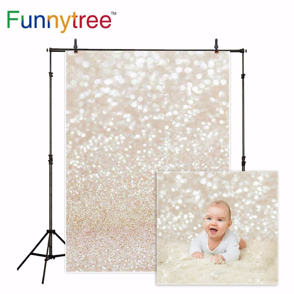 Funnytree backdrop for photographic studio golden shine christmas abstract bokeh halo professional background photocall photographic studio background white clouds blue dinette chinese style new born professional xmas photocall background pictures