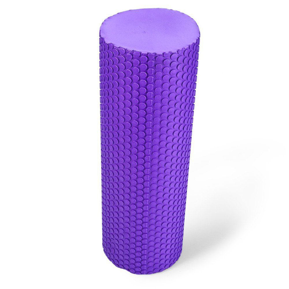 Pilates Fitness EVA Floating Point Yoga Foam Roller Physio Gym Exercise Massage kifit eva point floating yoga foam roller trigger textured for fitness home gym exercise sports massage health care tool