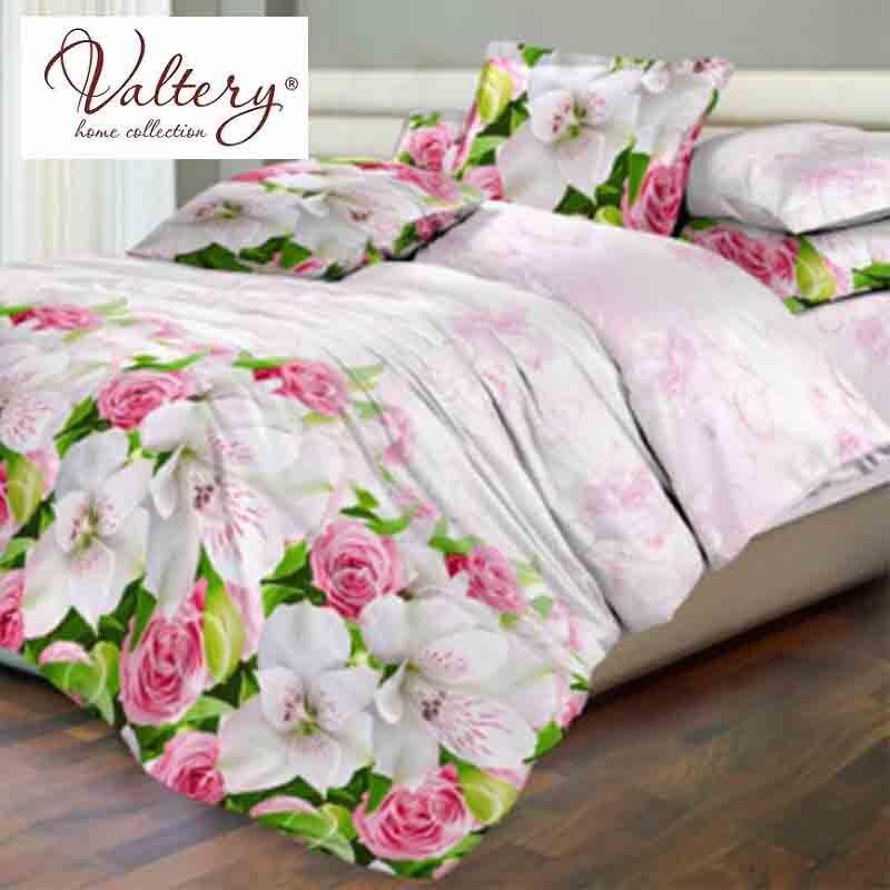 цена на 100% cotton satin softcotton flowers luxury bedding sets queen king size duvet cover bed sheet set bed set bed linen kit plaid
