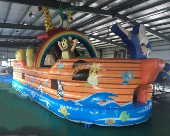 Customized Outdoor Inflatable Playground Inflatable Obstacle Course For Kid Funny Inflatable Sports Game