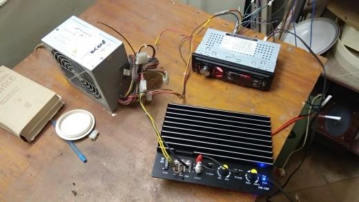 доска обрезная; спикер subwoof; аудио усилитель для автомобиля; схема аудио;