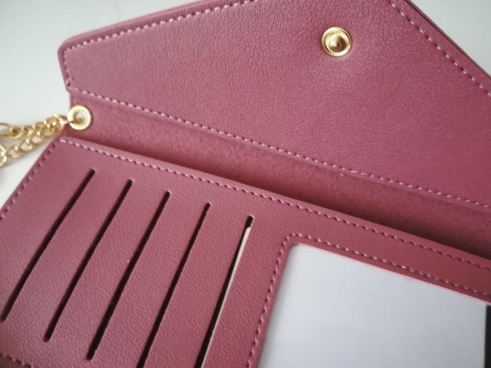 кожаный бумажник женщин; бумажник женщин; Основной материал:: ПУ;