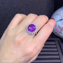 KJJEAXCMY boutique jewelry 925 sterling silver inlaid natural amethyst gemstone female ring support detection kjjeaxcmy boutique jewelry 925 sterling silver inlaid natural garnet gemstone female ring new support detection