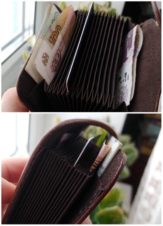 DIENQI retro genuine leather money clips wallet cardholder dollar money holder designer new men money bag purse 2019 fermasoldi photo review