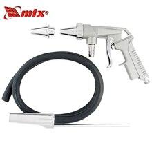 Пистолет пескоструйный MTX 573289 (Расход воздуха 5-7 (л/с) / 320-420(л/мин) Диаметр форсунки 6 мм Рабочее давление 4-8 бар)
